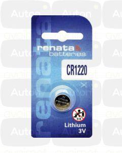 RENATA lithium paristo 3V CR1220