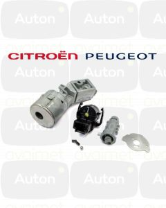 Citroën/Peugeot virtalukon korjaus (avain ei käänny)