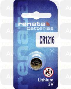 RENATA lithium paristo 3V CR1216