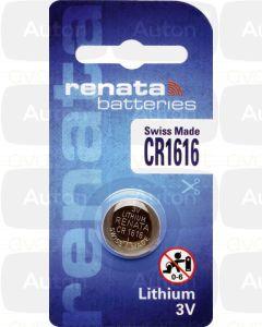 RENATA lithium paristo 3V CR1616