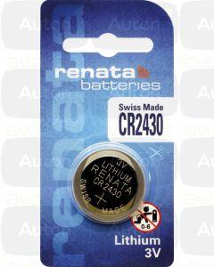 RENATA lithium paristo 3V CR2430