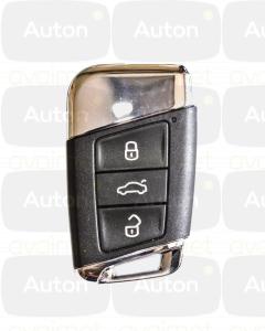 Kaukolukitusavain Volkswagen Passat/Skoda Superb 2015- (Keyless Go) OEM