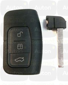 Keyless Go avaimen kuoret Ford C-Max/Focus/Kuga/Mondeo/S-Max 2007-2011