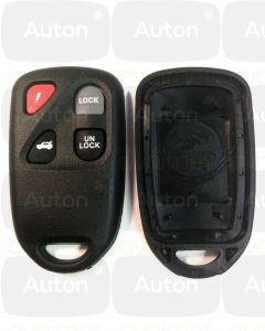 Mazda kauko-ohjaimen kuori 4-nappia