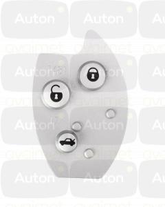 Kaukolukitusavaimen painonapit Citroen C5/Xsara