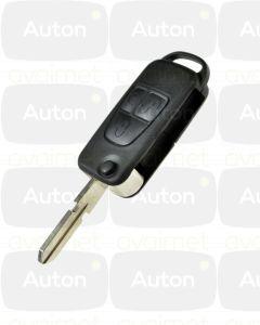 Kaukolukitusavain Mercedes-Benz SL/S/G (W129/W140/W461) 3-nappia HU39 433Mhz