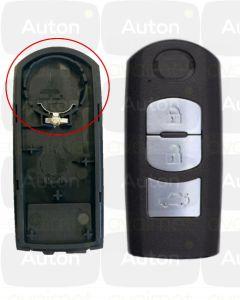 Mazda smart-avaimen kuori 3-nappia