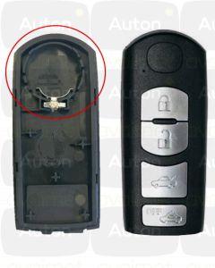 Mazda smart-avaimen kuori 4-nappia