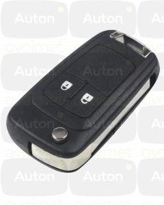 Kaukolukitusavain Opel/Chevrolet 2-nappia (433Mhz)