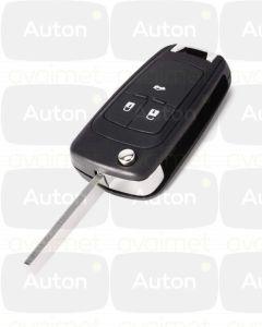 Kaukolukitusavain Opel/Chevrolet 3-nappia (Keyless Go, 433Mhz)