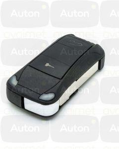 Kaukolukitusavain Porsche Cayenne 2002-2008 (2-nappia, US) Keyless Go