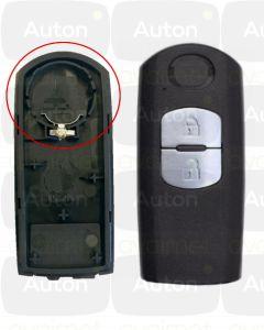 Mazda smart-avaimen kuori 2-nappia
