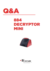 Keyline 884 Decryptor Mini Q&A